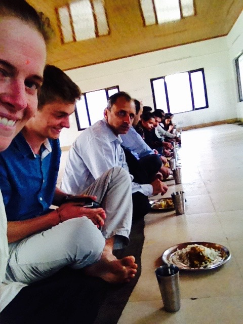 Temple lunch