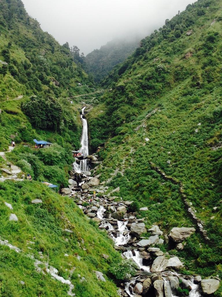 Waterfall above Dharamsala